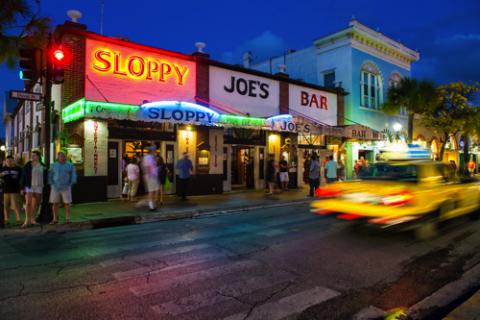 Live Music Bar, Duval Street Key West, FL